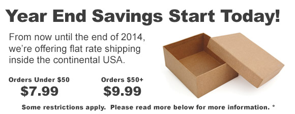 End of year shipping savings!