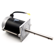 Salt spreader motor