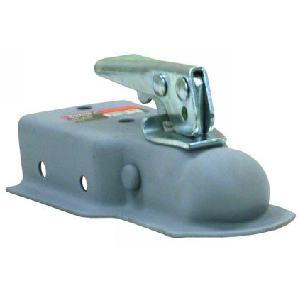 """Picture of Straight Tongue Coupler with 1-7/8"""" Ball x 3"""" Channel"""