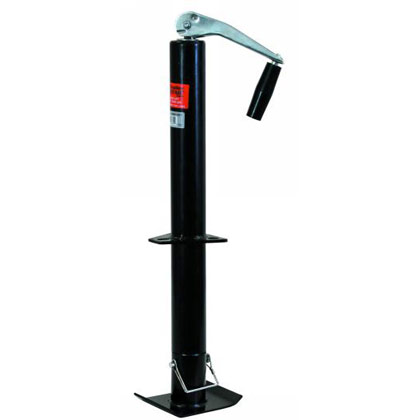 "Picture of 5000# 15"" Travel Top Wind A-Frame Jack with Support' Base"