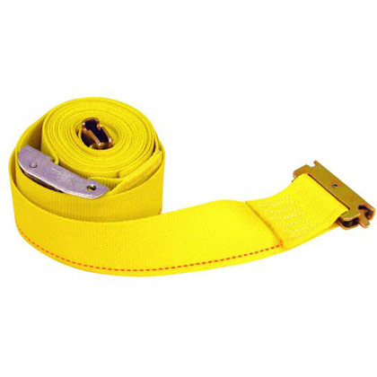 "Picture of 2"" x 16' Ratchet Strap with E-Track Fitting"
