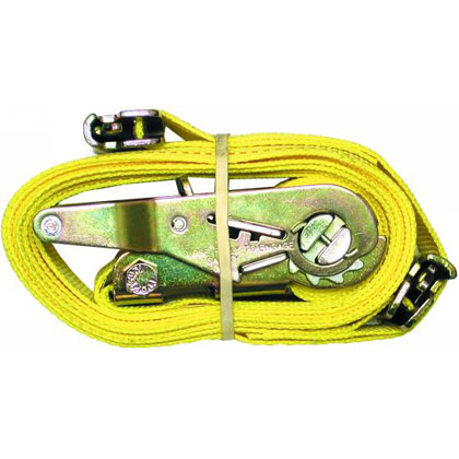 "Picture of 2"" x 20' Ratchet Strap with E-Track Fitting"