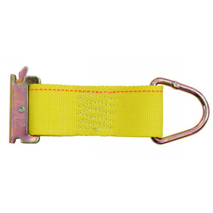 "Picture of 2"" x 6"" Rope Ring Tie Down Strap with E-Track Fitting"
