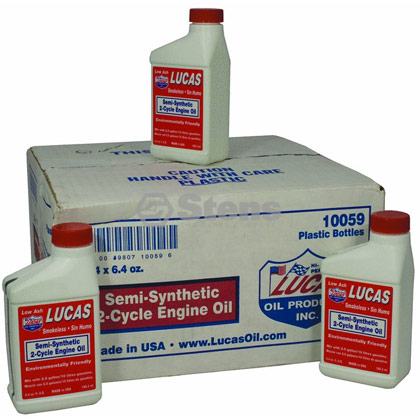 Picture of Semi-Synthetic 2-Cycle Oil - Case of 24 x 6.4 oz. bottles
