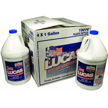 "Picture of Lucas Oil ""Magnum"" Motor Oil - Case of 4 x 1 Gallon Bottles"