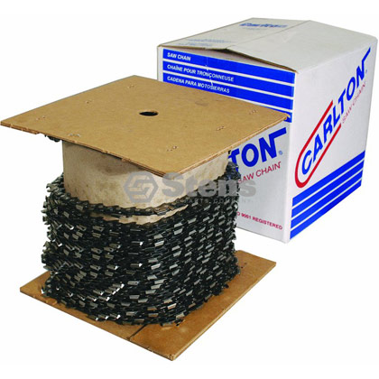 "Picture of Carlton Saw Chain 100' Semi-Chisel - 3/8"" Pitch"