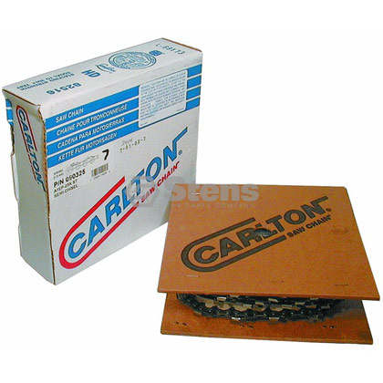"Picture of Carlton Saw Chain 25' Semi-Chisel - 3/8"" Pitch"
