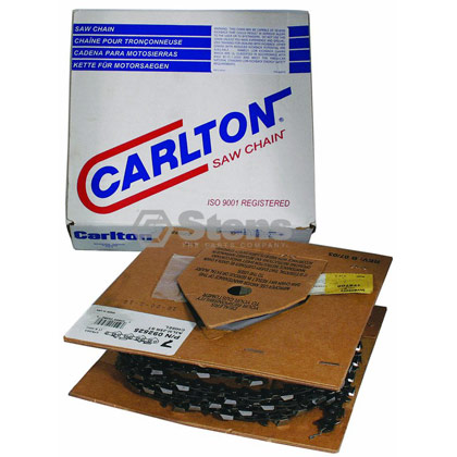 "Picture of Carlton Saw Chain 25' Chisel - 3/8"" Pitch"