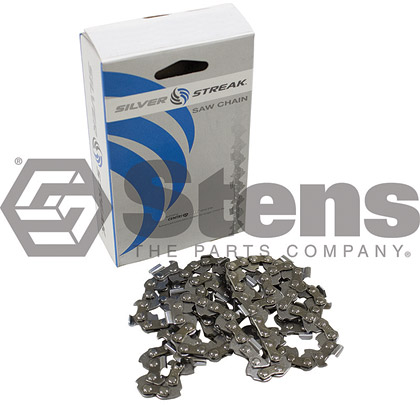 Picture of 64 Link .325 Semi-Chisel, .058 Gauge Silver Streak Pre-Cut Standard Saw Chain