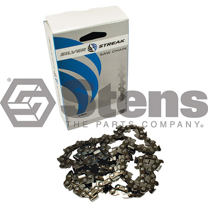 Picture of 66 Link .325 Semi-Chisel, .058 Gauge Silver Streak Pre-Cut Standard Saw Chain