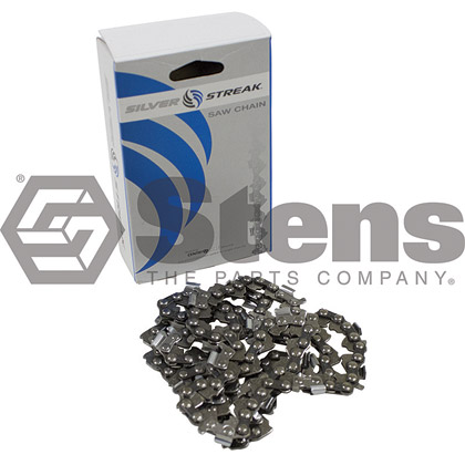 Picture of 78 Link .325 Semi-Chisel, .058 Gauge Silver Streak Pre-Cut Standard Saw Chain
