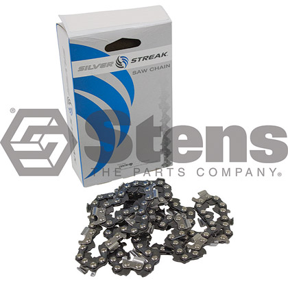 Picture of 68 Link .325 Semi-Chisel, .063 Gauge Silver Streak Pre-Cut Standard Saw Chain