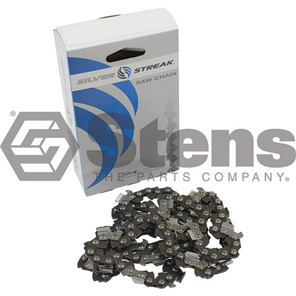 Picture of 74 Link .325 Chisel, .063 Gauge Silver Streak Pre-Cut Standard Saw Chain
