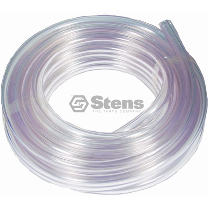 """Picture of 1/4"""" Clear PVC Fuel Line"""