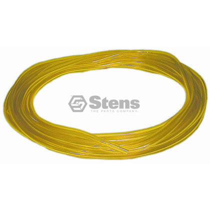 "Picture of 25' of 1/8"" Clear Yellow Excelon Fuel Line"