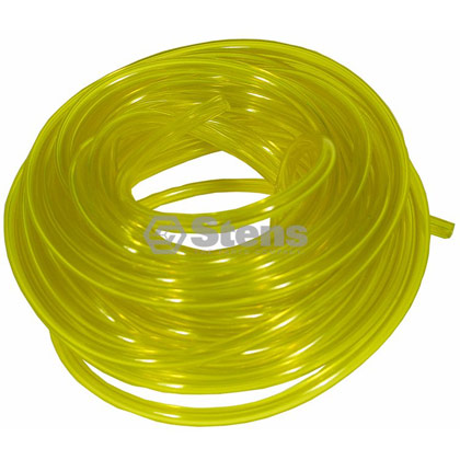 "Picture of 25' of 3/32"" Clear Yellow Excelon Fuel Line"