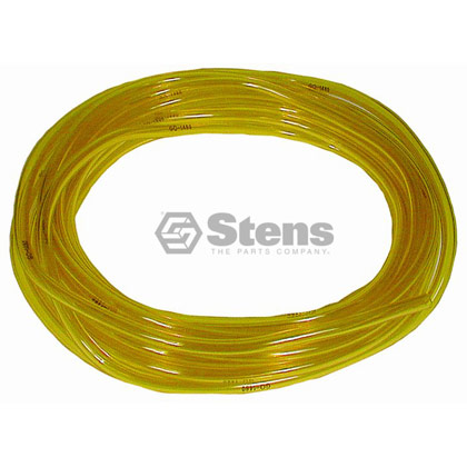 "Picture of 25' of 3/16"" Clear Yellow Excelon Fuel Line"