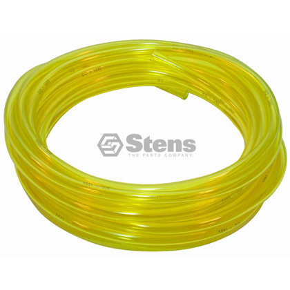 "Picture of 1/4"" Clear Yellow Excelon Fuel Line"