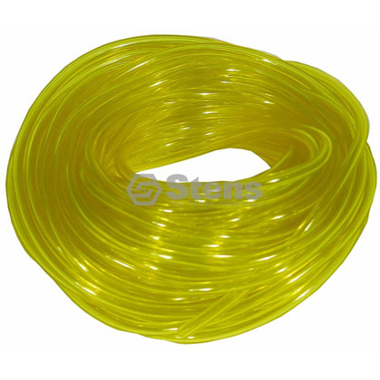 "Picture of 25' of 1/16"" Clear Yellow Excelon Fuel Line"
