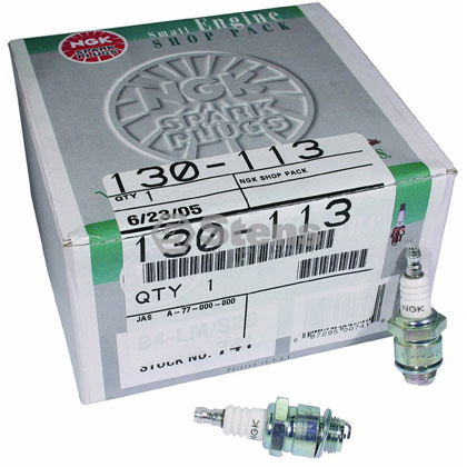 Picture of NGK B4LM (J17LM/J19LM) Spark Plug Shop Pack