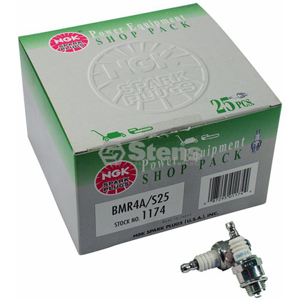 Picture of NGK BMR4A Spark Plug Shop Pack