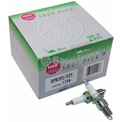 Picture of NGK BPR2ES Spark Plug Shop Pack