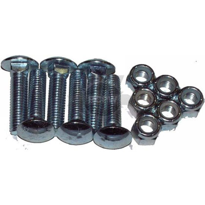 "Picture of Cutting Edge Nuts & Bolts - Set of 6 (1/2"" x 2"")"