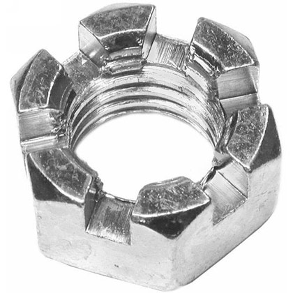 Picture of Slotted Hex Nut