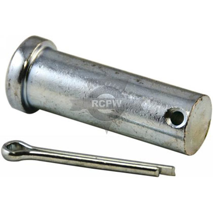 "Picture of 3/4"" x 2-3/16"" Clevis Pin with Cotter"