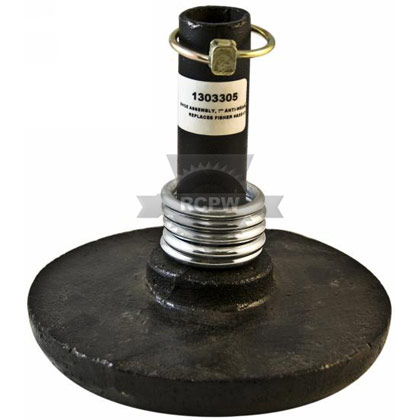 """Picture of 7"""" Fisher Anti-Wear Snow Plow Shoe Assembly"""