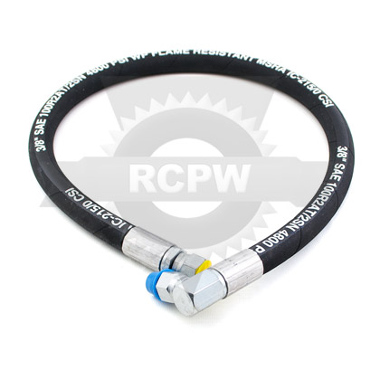 "Picture of 28-1/2"" x 3/8"" Hydraulic Hose"