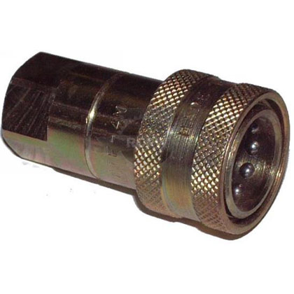 "Picture of 1/4"" Female NPT Hose Coupler"