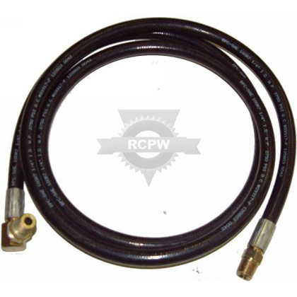 "Picture of 70"" Hose with Swivel"