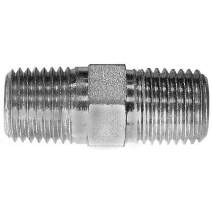 "Picture of 1/4"" Hex Nipple"