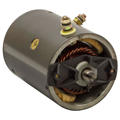 "Picture of 4-1/2"" 12V Tang Shaft Motor"