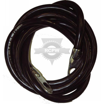 "Picture of 60"" Black Ground Cable"