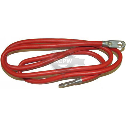 "Picture of 60"" Red Battery Cable"
