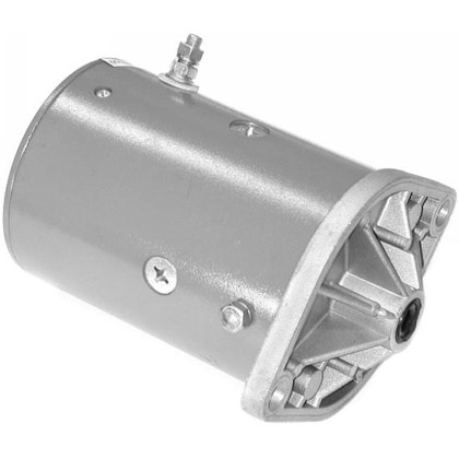 "Picture of 4-1/2"" Fisher Snow Plow Motor"