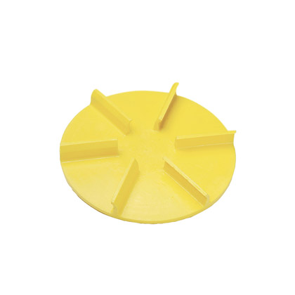 "Picture of 18"" Yellow Poly Spinner, CW"