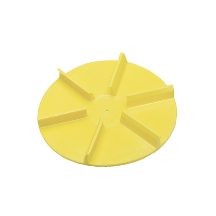 """Picture of 20"""" Yellow Poly Spinner, CCW"""