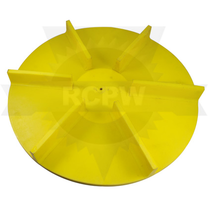 "Picture of 20"" Yellow Poly Spinner, Straight"