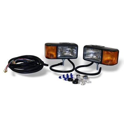 Picture of Snowplow Halogen Headlight Kit with Harness