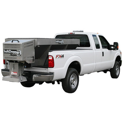 Picture of Buyers SaltDogg 2.0 Cubic Yard Gas Stainless Steel Hopper Spreader Kit (Extended Chute)