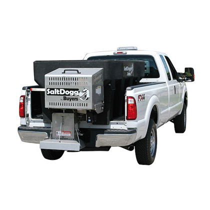 Picture of Buyers SaltDogg 2.0 Cubic Yard Gas Poly Hopper Slide-In Spreader Kit (Standard Chute)