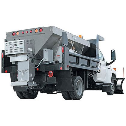 Picture of Buyers SaltDogg 4.0 Cubic Yard Gas Powered Stainless Steel Hopper Salt Spreader Kit