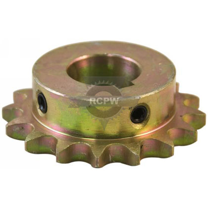 Picture of 16 Teeth with Set Screw #40 Chain Sprocket