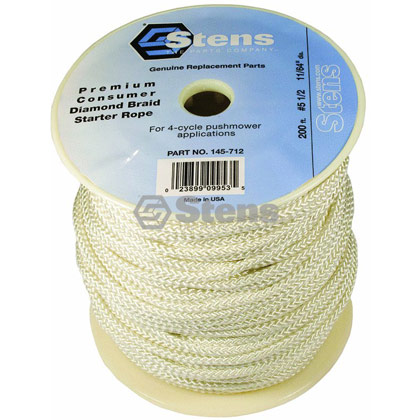 Picture of #5-1/2 200' Diamond Braid Starter Rope