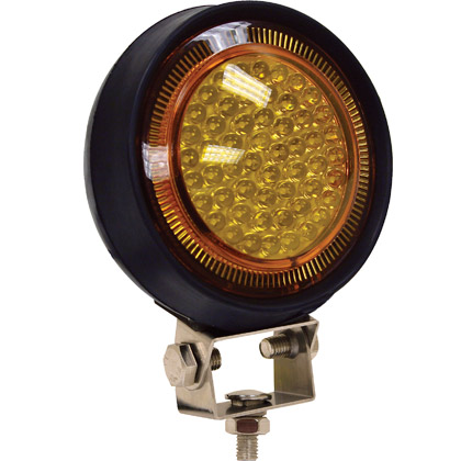 "Picture of 5"" 54 LED Amber Utility Light"