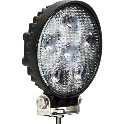 "Picture of 4.5"" Round Clear LED Flood Light"