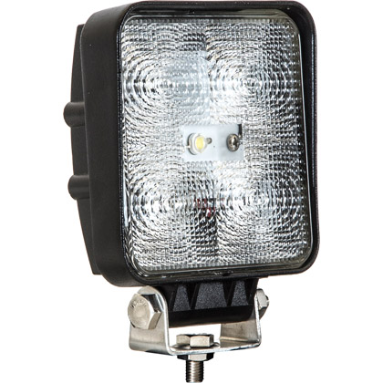 """Picture of 4"""" 5 LED Clear Square LED Flood Light"""
